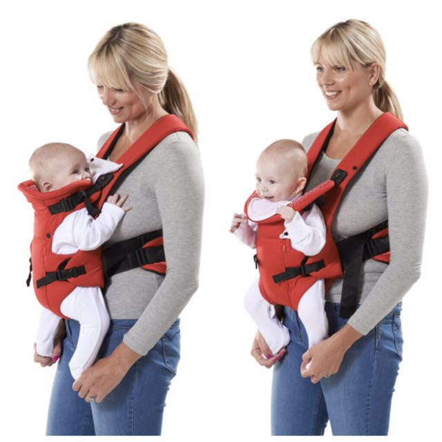 MOTHERCARE 2 POSITION BABY CARRIER -NAVY COLOR *NEW*