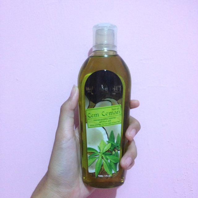 mustika ratu hair oil