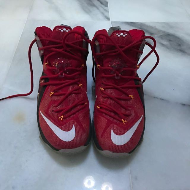 official photos b9377 21268 Nike Lebron XII Elite Basketball (REDUCE)