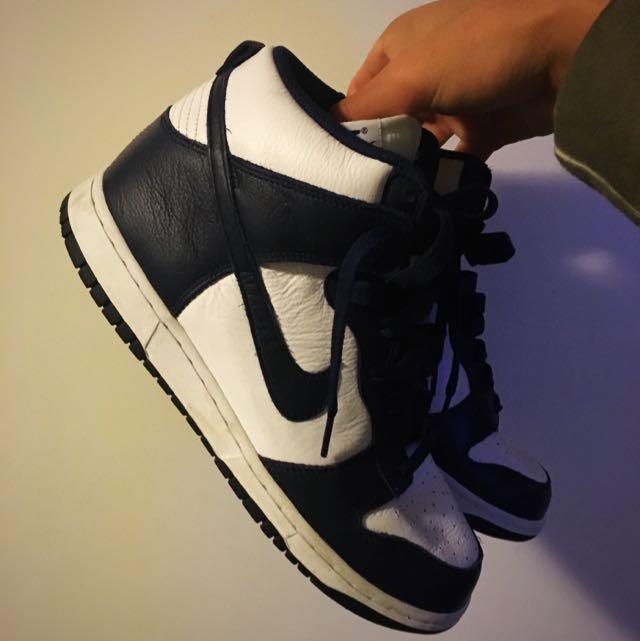 Nike Navy Dunks