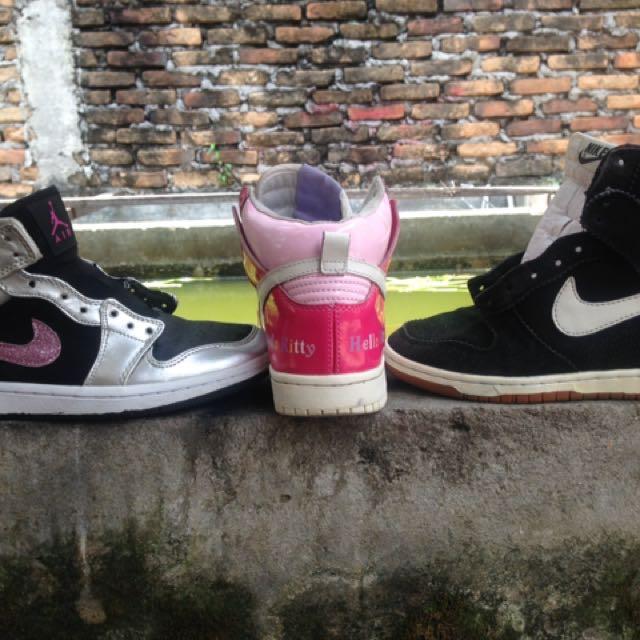Nike Wedges Nike Jordan Nike Helo Kitty