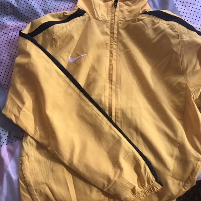 Nike Yellow/Black Kill Bill Jacket