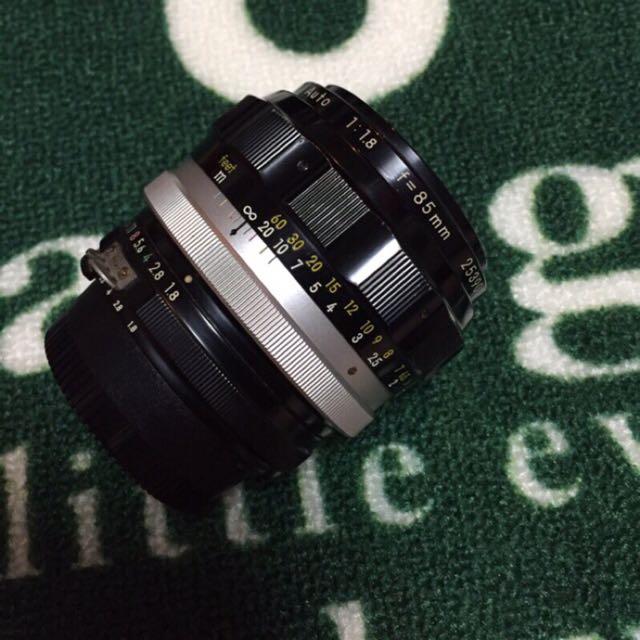Nikon 人像鏡皇 Nikkor-H auto 85mm f1.8 改ai接環 Canon 轉接首選