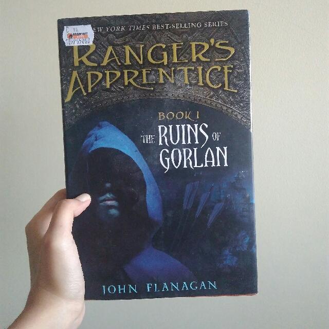 novel ranger's apprentice (dalam bahasa inggris)