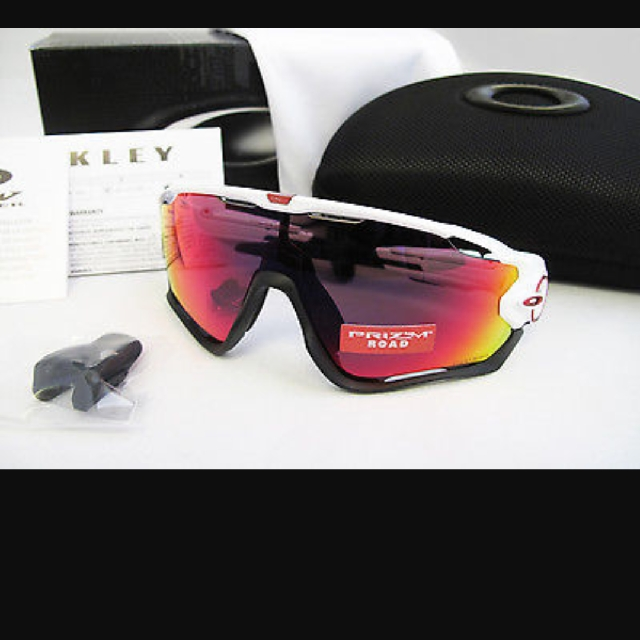 7f7c6014004 Oakley Jawbreaker Polished White Prizm Road Brand New Authentic ...