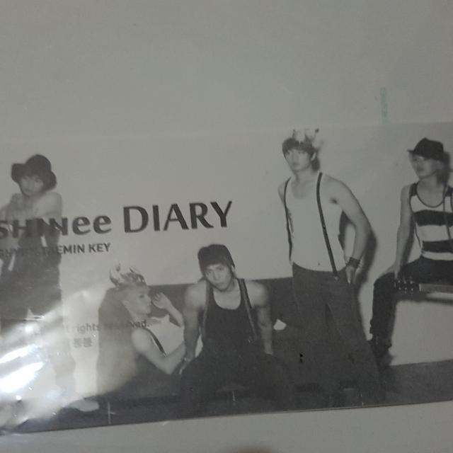 [Official] SHINee Diary Photocards
