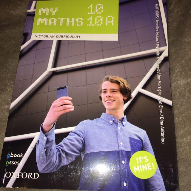 Oxford My Maths Year 10 Textbook