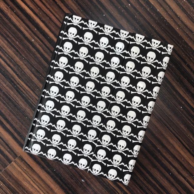 Peter Pauper Press skull notebook