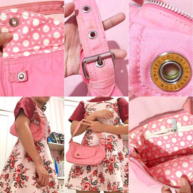 Pink Mini Shoulders Bag