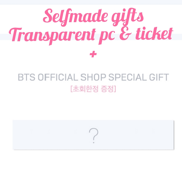 Interest Check Official Shop Selfmade Gifts For Love Yourself