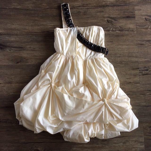 Puffy Baloon Dress