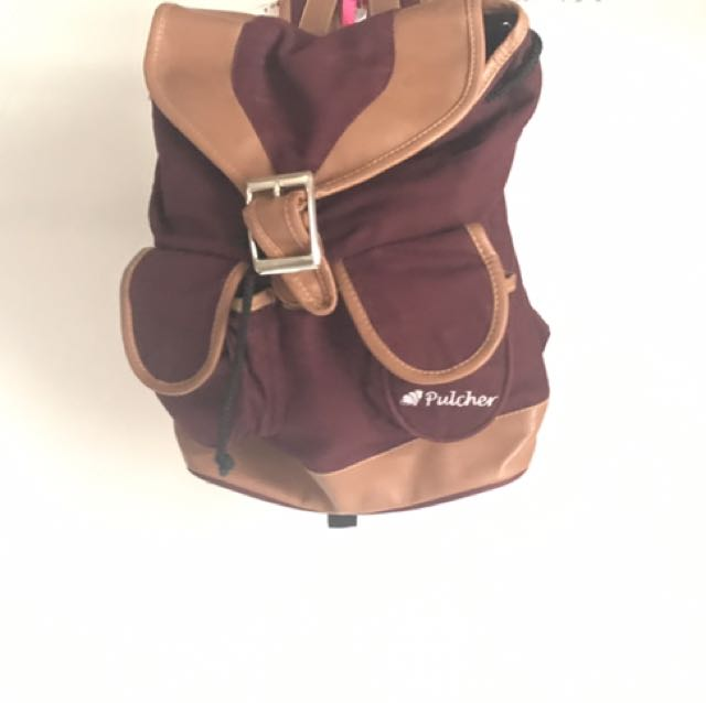 Pulcher Fox Bag Maroon