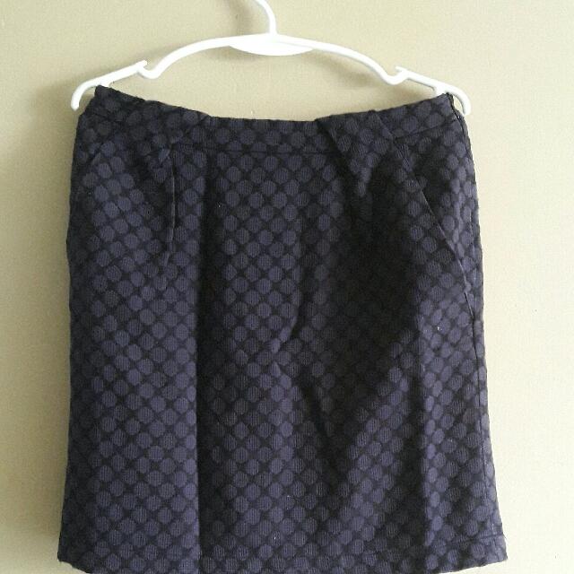 Purple Classy Skirt