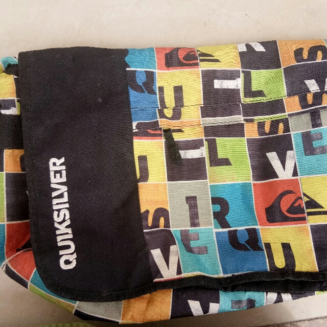 Authentic Quiksilver Bag
