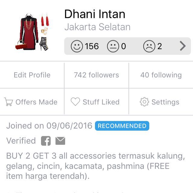 Recommended Seller. Thank you Carousell!