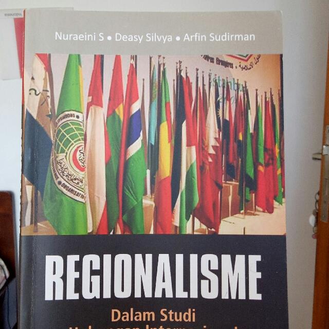 REGIONALISME DALAM STUDI HUBUNGAN INTERNASIONAL