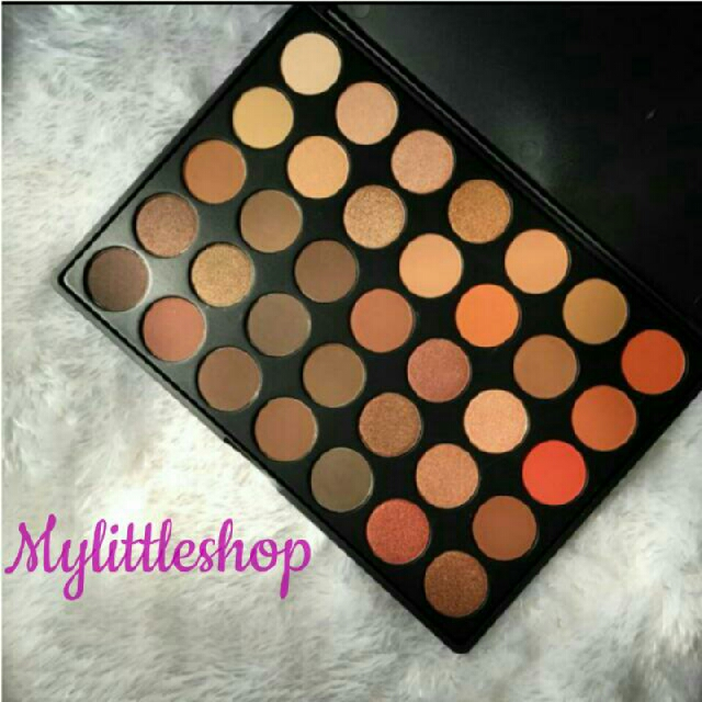 Sold out💝 Morphe 35O Shimmer Nature Glow Eyeshadow
