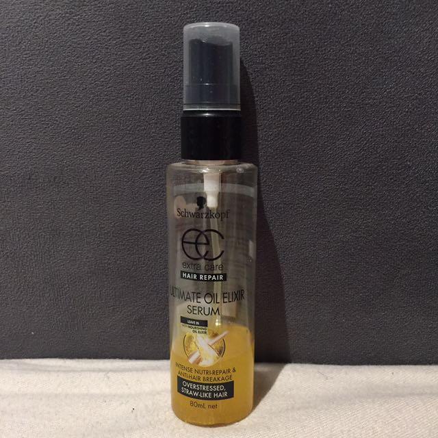 Schwarzkopf ultimate oil elixir serum