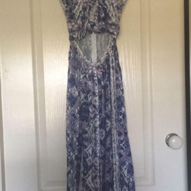 Seed heritage peek a boo dress 6