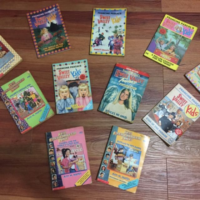 Set of 11 Books (Sweet Valley and Baby-Sitters Club)