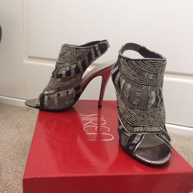 Siren heels size 7 metallic free postage