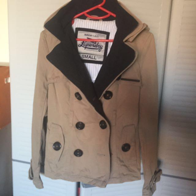 Size Small Superdry Parka Jacket