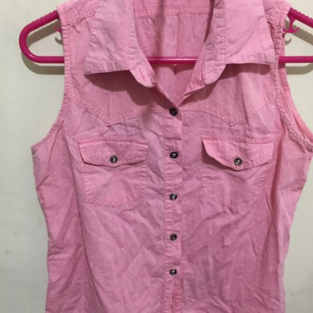 Sleeveless Blouse branded (Next)