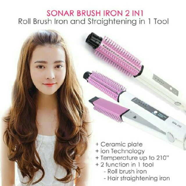 Sonar Hair Styling Tools 2in1 SN-20