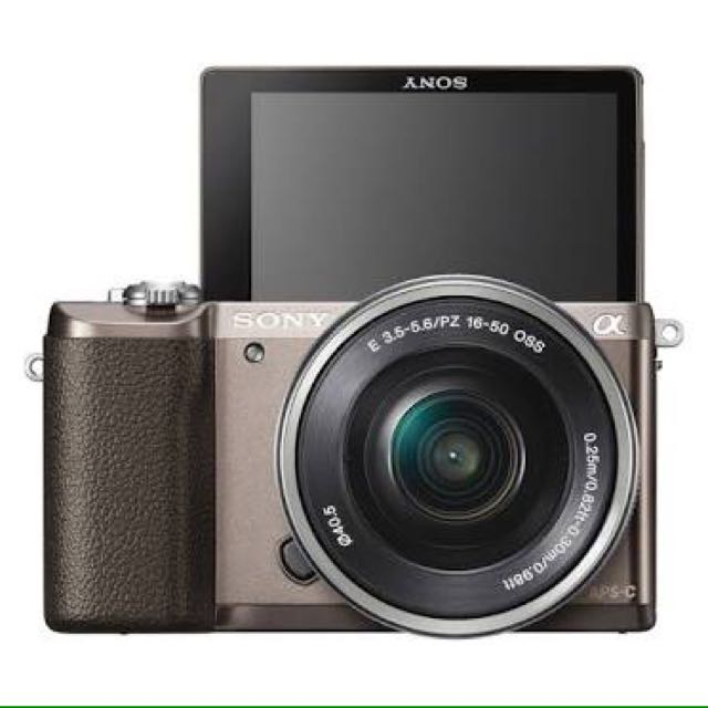 Sony mirrorless Alpha 5100