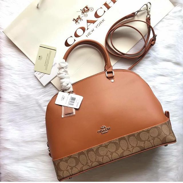 6f4725f37d ... cheapest super sale authentic coach alma sling bag womens fashion bags  wallets on carousell c033a b3ddd