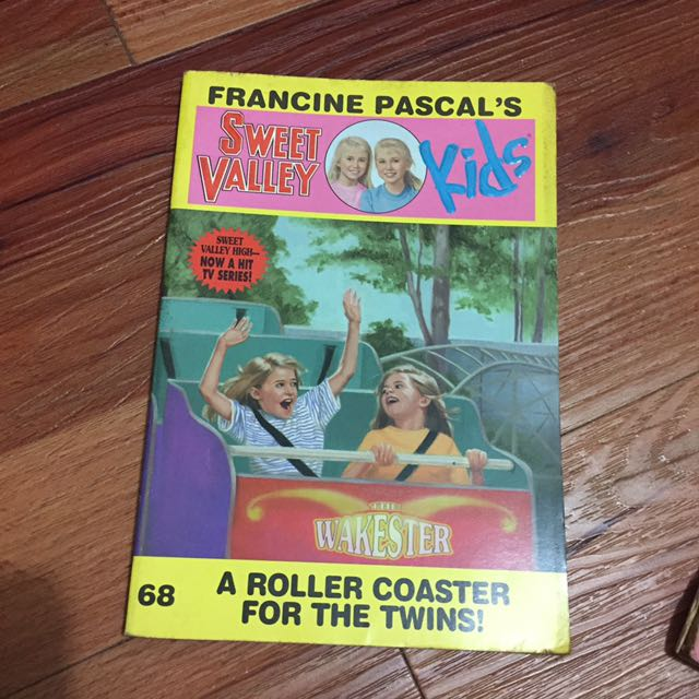 Sweet Valley Kids A Roller Coaster for the Twins by Francine Pascal