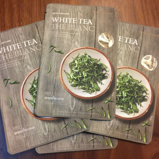 THEFACESHOP Real Nature White Tea Extract