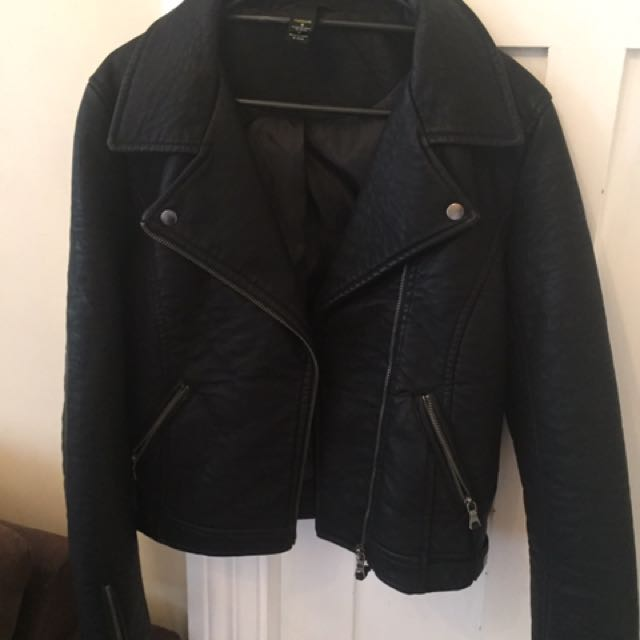 Thick Leather Jacket