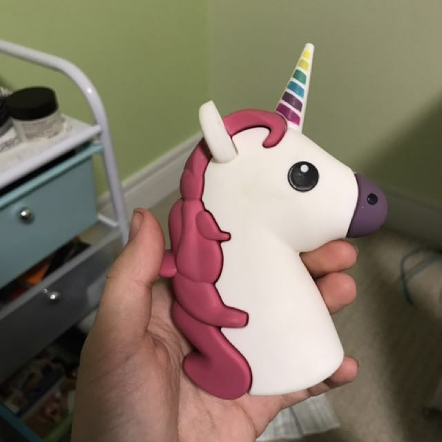 Unicorn portable charger