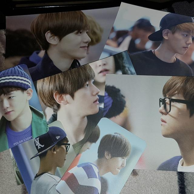 [Unofficial] EXO Baekhyun / Chanyeol Photocards