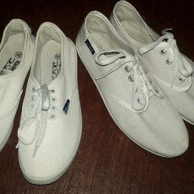 CLASS A White KEDS Shoes & White Jmaker Shoes