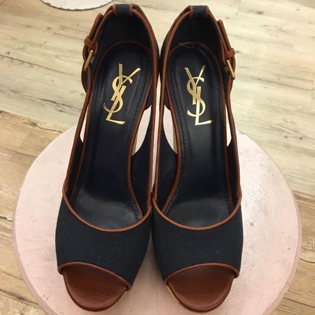 YSL楔型鞋