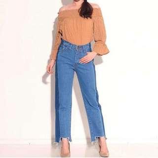 Boyfriend jeans aquos size 27-30 ready