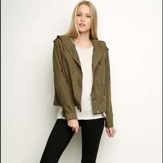 Brandy Melville Army Jacket