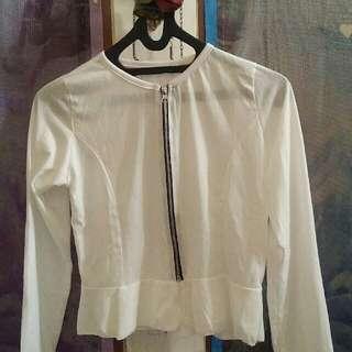 Kaos Putih & Orange