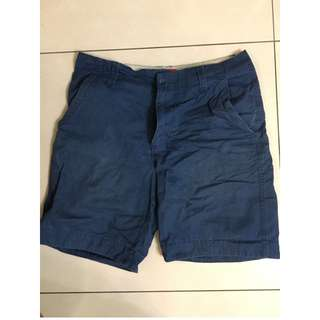 DoctorJ湛藍短褲