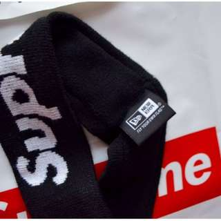 Supreme x New Era Headband