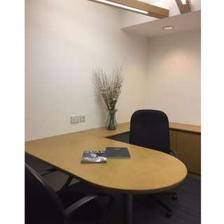 Fully Furnished Office Space For Rent! (Bukit Batok Crescent Heng Loong Building)