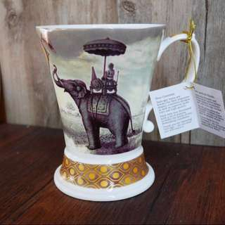 大象骨瓷coffee鬱金香杯