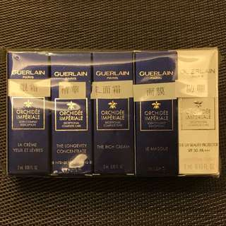 GUERLAIN Orchidee Imperiale Exceptional Complete Care Travel Set 嬌蘭蘭花系列 五件旅行套裝