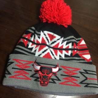 🐂MITCHELL & NESS CHICAGO BULLS BEANIE🐂