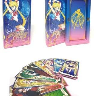 美少女戰士 Crystal 星之塔羅牌 一套22張 25週年紀念快閃店 台灣限定