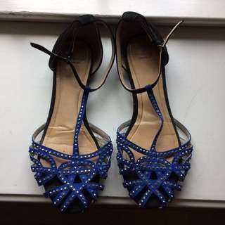 Zara Jewelled Flats