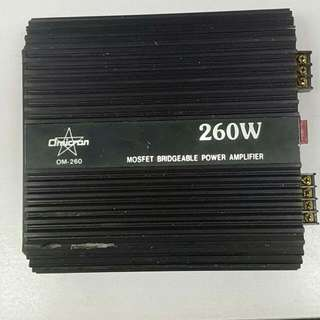 Car  Amplifier 260watts