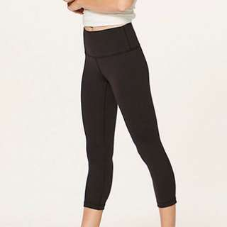 Lululemon Hi-Rise Crop Leggings